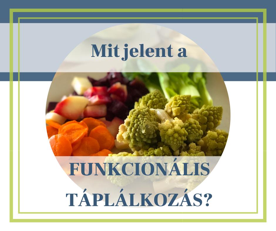 Mi az a funkcionális táplálkozás?